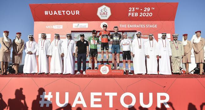 Reaktioner fra tredje etape i UAE Tour
