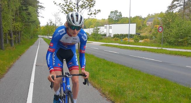 Dansk teenager overrasker - jagter etapesejr og samlet podie