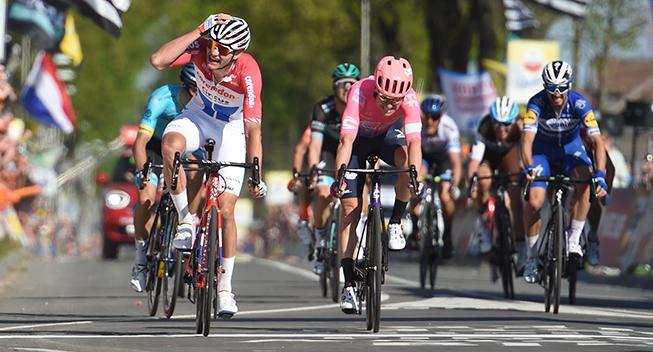 Amstel Gold Race hænger i en tynd tråd
