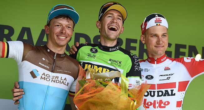 Belgisk stortalent ude af UAE Tour
