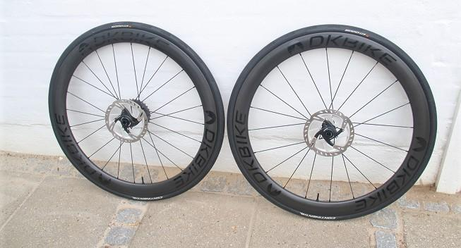 Test: Carbon hjulsæt fra DKBIKE