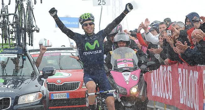 Giro-Feber: Sneklædt Col du Galibier blev overvundet af Visconti