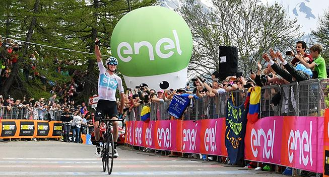 Giro-Feber: Froome laver historisk comeback med stort angreb
