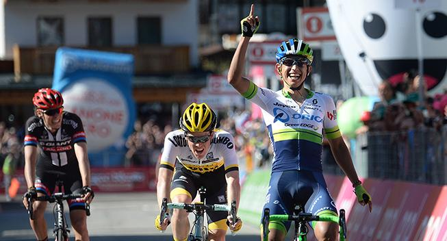 Giro-feber: Den smilende dræber triumferer efter maratondag