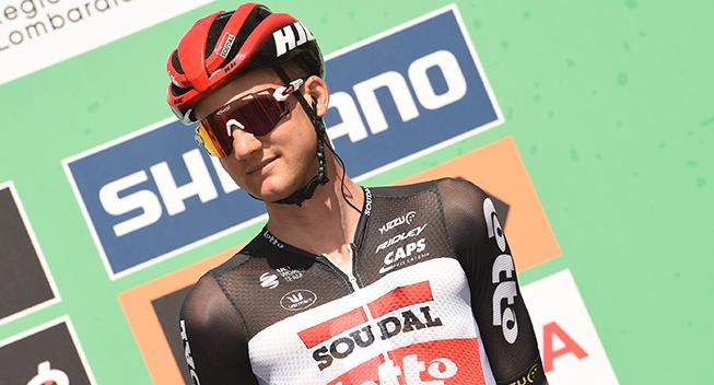 Lotto Soudal holder profilparade i Luxembourg