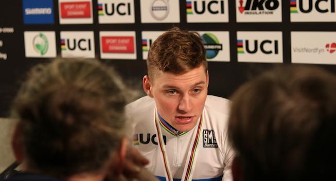 Van der Poel afklaret efter sjældent nederlag: Jeg var ikke god nok