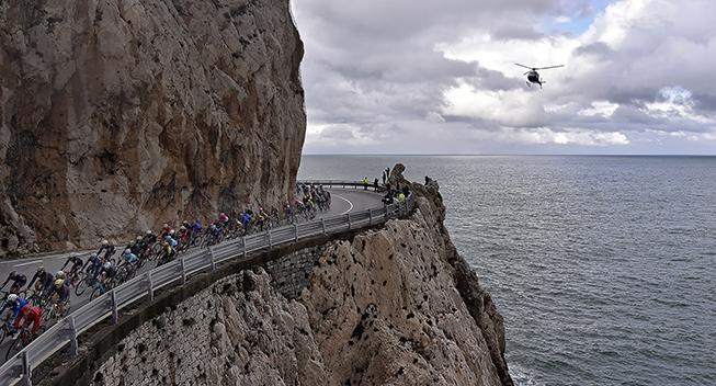 Legendarisk San Remo-stigning ramt af jordskred