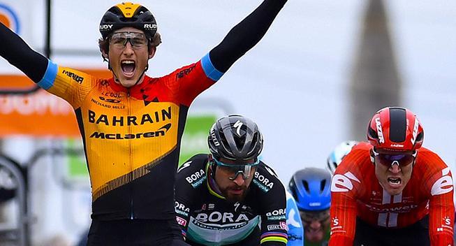 Garcia Cortina om sejr i Paris-Nice: Jeg var syg inden løbet