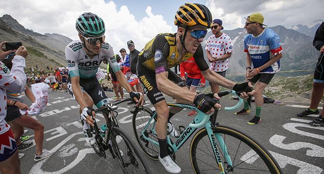 Styrt stopper Tour-favoritter i Critérium du Dauphiné