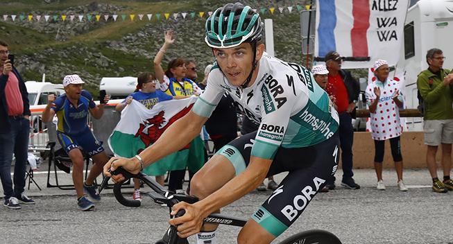 Manglede blot 25 sekunder: Buchmann vil på podiet i Touren