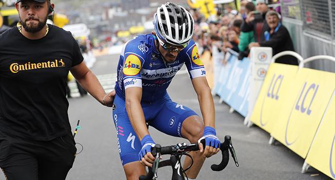 Julian Alaphilippe udgår af Vuelta a San Juan