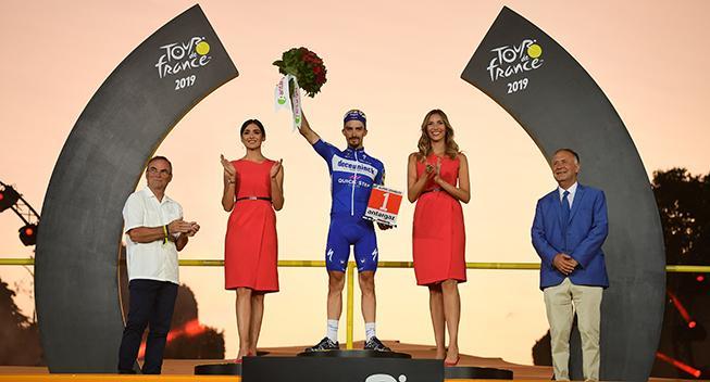 Alaphilippe: Publikum er en del af Tour de France