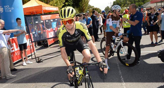 Yates med knæsmerter efter styrt - tvivlsom til 3. etape