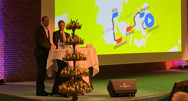Tour de France-ruterne i Danmark præsenteret