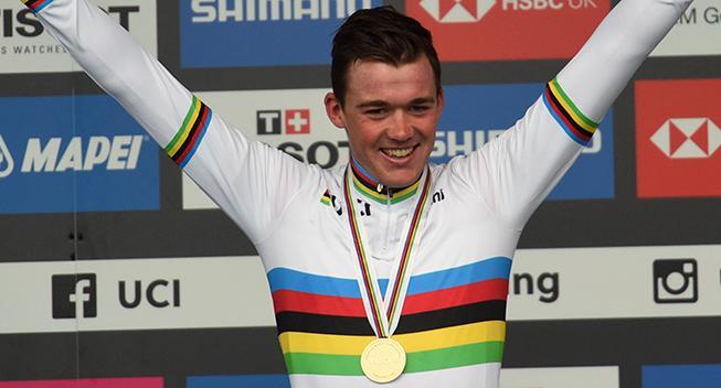 Mads Pedersen er Årets Cykelrytter 2019