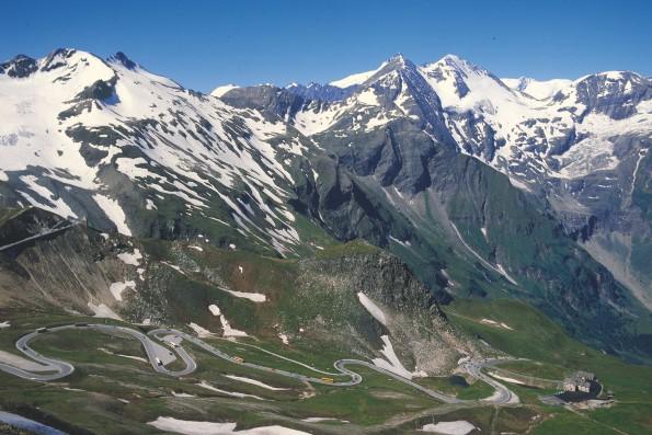 Grossglockner et bjergikon i Hohe Tauern