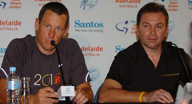 Bruyneel om Armstrong: Han var den bedste - også uden doping