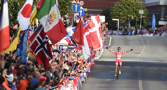 UCI bekræfter Danmarks mange VM-pladser