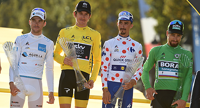 Tour de France starter i Danmark i...