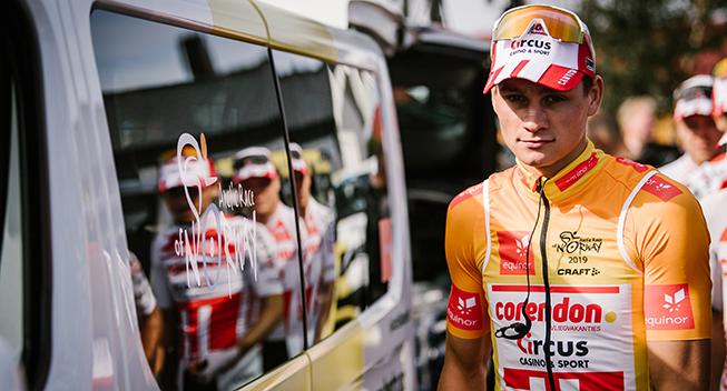 AG2R La Mondiale Astana Pro Team BahrainMerida BoraAx CCC Team Deceuninck: Ikke plads til Corendon-Circus