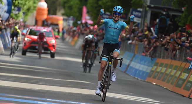 Giro-feber: Baskisk triumf i LAquila