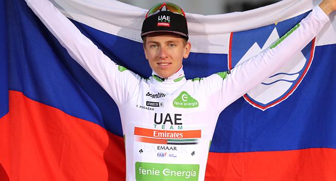Medie: Pogacar debuterer i Giro d`Italia i 2020