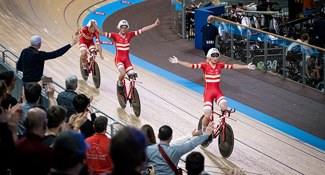 OL-brikkerne ved at falde på plads for banelandsholdet