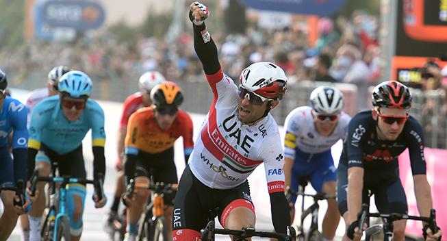 Optakt: 8. etape af Giro d'Italia