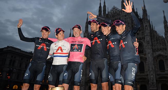 Årets wildcards til Giro d'Italia er offentliggjort