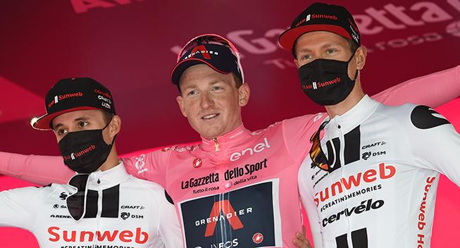 Giro d'Italia: Holdoversigt