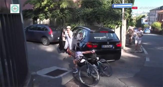Havarist anede ikke, der var cykelløb