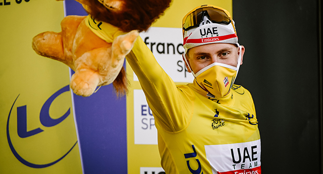Pogačars løbsprogram på plads: Skal forsvare Touren og køre Vuelta