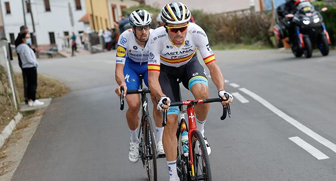 Stortalent og veteran udgår af Vueltaen