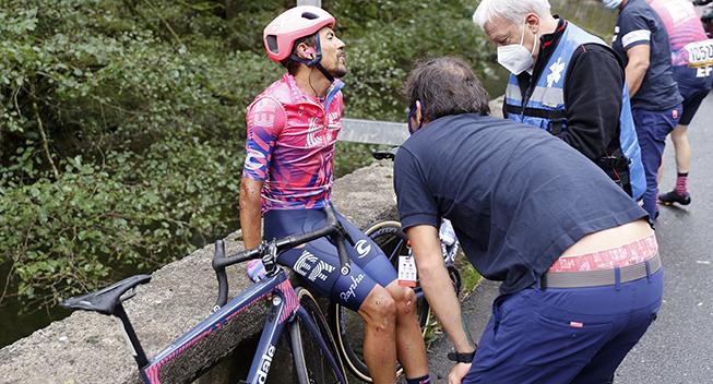 Colombiansk profil forlader Vueltaen