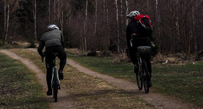 Min brors første BikePacking oplevelse