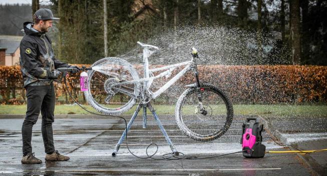 Pressure Washer fra Muc-Off: Perfekt rengøring af din cykel