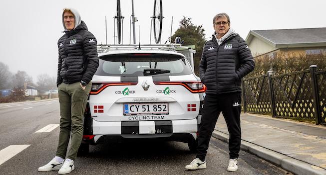 Ambitiøse ColoQuick kører til Belgien: Albuerne skal frem
