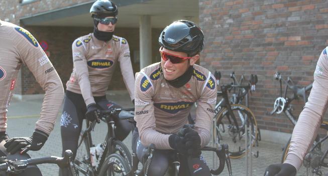 Riwal skal konkurrere mod WorldTour-hold i weekenden