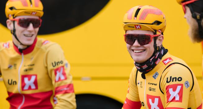 """I dag får norsk hold WorldTour-debut: """"Vi har ikke nået toppen"""""""