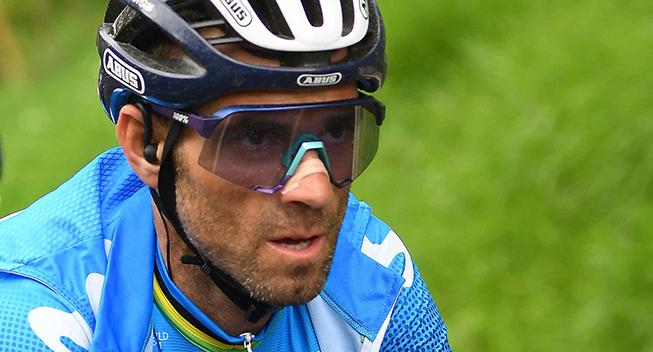 Ærgerlig Valverde: Kunne ikke følge Roglic
