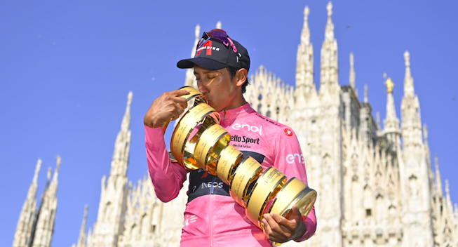 Bernal genstarter sæsonen i Vuelta a Burgos