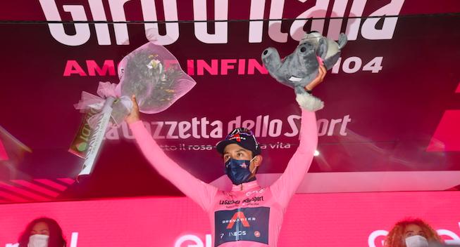 Rørt Bernal med første Grand Tour-etapesejr: Ofret meget