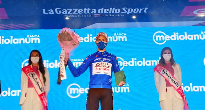 Fik Giro-bjergtrøjen: Målet var etapesejren