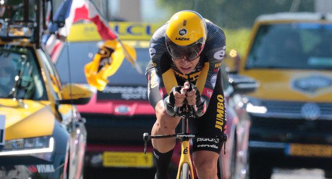 Sejrherren Van Aert roser Vingegaard: Et fantastisk resultat