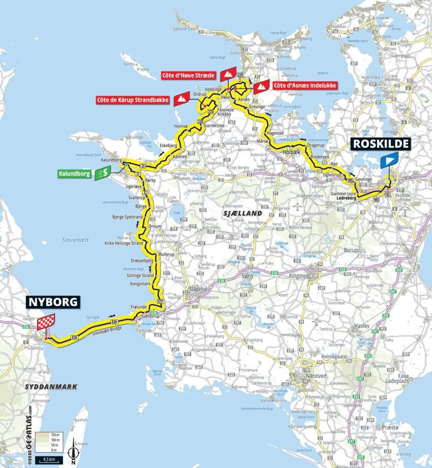 Tour de France 2021 - 2. etape Roskilde-Nyborg