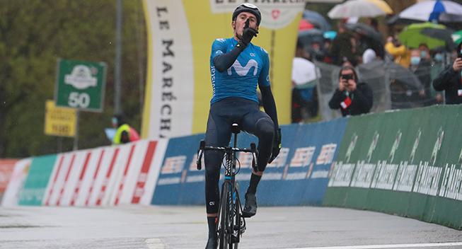 Soler leder an på Movistars Giro-trup