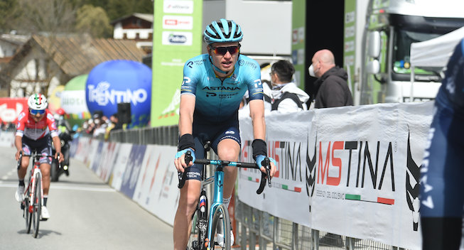 Russisk klatrer efter andenplads: Godt tegn før Giro d'Italia