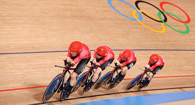 OL-medaljeoversigt: Danmark på tavlen