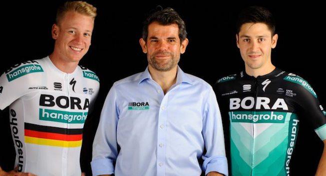 Sagan uden regnbuestriber - her er Bora-hansgrohes nye trøje