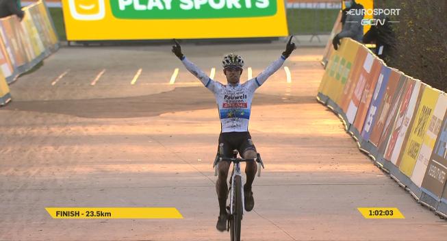 Eli Iserbyt vinder i Boom